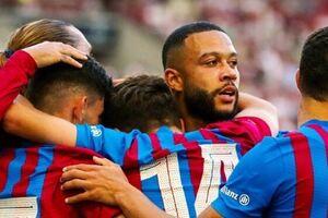 برد پرگل بارسلونا مقابل اشتوتگارت در دیداری تدارکاتی - کراپشده