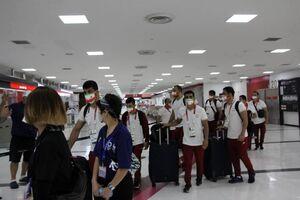 ورود آخرین کاروان المپیکی ایران به توکیو