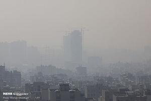 آلودگی هوای تهران در نخستین روزهای پاییز