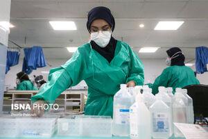 بیمارستان سینا همدان در پیک پنجم کرونا