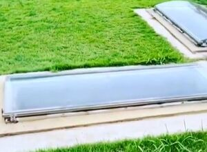 فیلم/ قبرهای شیشهای