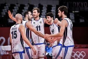 المپیک توکیو - والیبال مردان؛ ایتالیا دوم شد