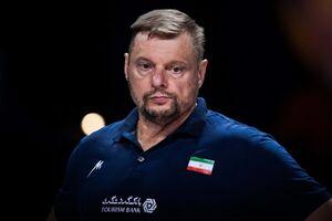 اظهارات آلکنو پس از حذف والیبال ایران