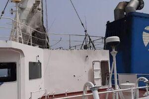 نخستین تصاویر از خسارات کشتی مرسر استریت
