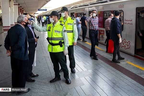 مسافران مترو با تست مثبت کووید ردیابی می شوند؟