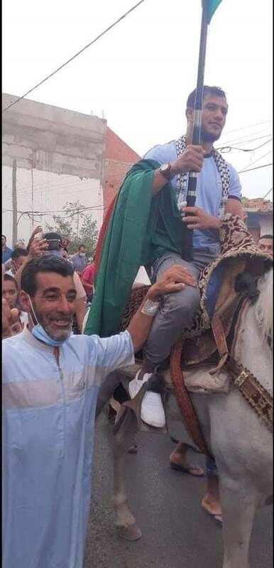 ورزشکار ضدصهیونیست سوار بر اسب عزت +عکس