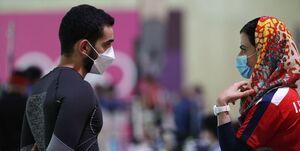 المپیک توکیو| حمایت سرمربی از شاگرد/ هاشمی: به حریفان نگاه کنید متوجه نتیجه خوب صداقت میشوید