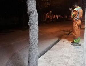 عکس/ خلوتی با خدا در هیاهوی این شهر