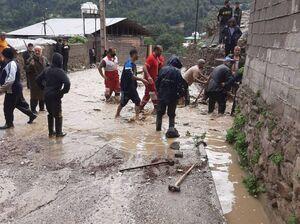 سیل و آبگرفتگی در سوادکوه