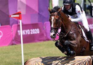 المپیک ۲۰۲۰ توکیو| پیام احساسی سوارکار سوئیسی پس از مرگ اسبش