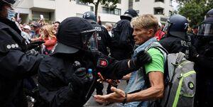 مرگ معترض آلمانی تحت بازداشت پلیس