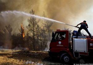 تداوم جدال نفسگیر آتش با آنشنشانها در جنوب اروپا