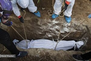 فوت 36 هزار تهرانی به دلیل کرونا/ هزینه کفن، دفن و خرید قبر در پایتخت - کراپشده
