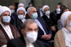 عکس/ محمدجواد ظریف در مراسم تنفیذ
