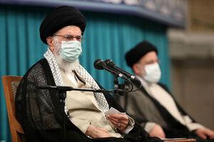 صوت کامل بیانات رهبر انقلاب در مراسم تنفیذ