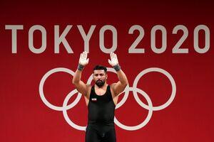 فیلم/ ناکامی علی هاشمی در حرکات دو ضرب المپیک