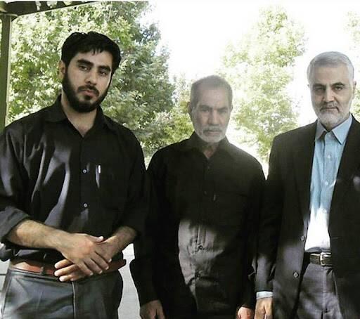 تعجب حاج قاسم از کرمانی بودن یک شهید مدافع حرم +عکس