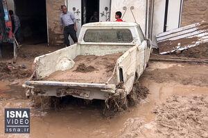 فیلم/ خسارات سیل ناگهانی در روستاهای قزوین
