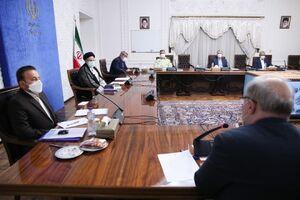 عکس/ اولین جلسه رئیسی با روسای کمیتههای ستاد ملی کرونا