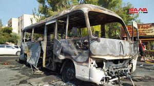 حمله تروریستی به اتوبوس حامل سربازان در سوریه