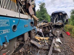عکس/ برخورد دو قطار در جمهوری چک