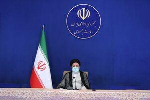 عکس/ حضور رئیسی در جلسه هیئت دولت