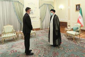 دیدار رئیسجمهور با دبیر کل اتحادیه آلبا
