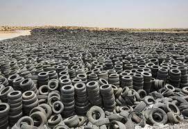 لاستیک سوزی عجیب در کویت+ فیلم