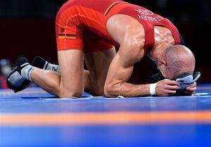 المپیک ۲۰۲۰ توکیو| خداحافظی رقیب سرشناس گرایی بعد از کسب مدال برنز المپیک + عکس