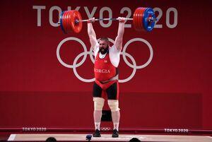فیلم/ رکوردشکنی تاریخی تالاخادزه در دوضرب و مجموع المپیک