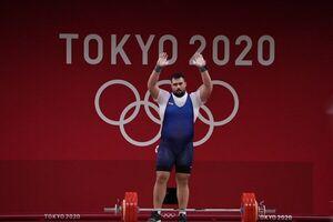 علی داودی نایب قهرمان المپیک توکیو شد +فیلم