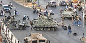 توقیف خودروی حامل گلوله و ماسک ضد گاز توسط ارتش لبنان