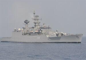 اعزام ناوهای نظامی هند به دریای چین جنوبی