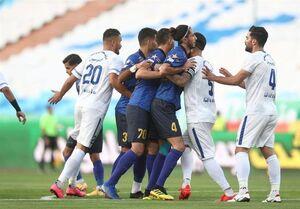 نیمه نهایی جام حذفی فوتبال| برتری گلگهر مقابل استقلال در نیمه اول