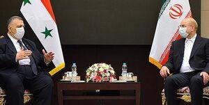 قالیباف: دولت و مجلس ایران تاکید ویژهای بر توسعه تبادلات اقتصادی با سوریه دارند