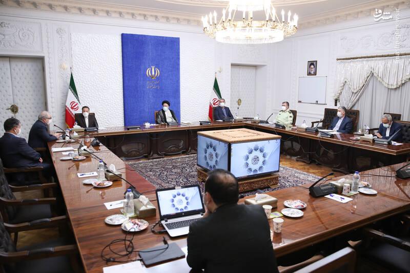 رئیسی در نخستین جلسه رسمی پس از تنفیذ حاضر شد
