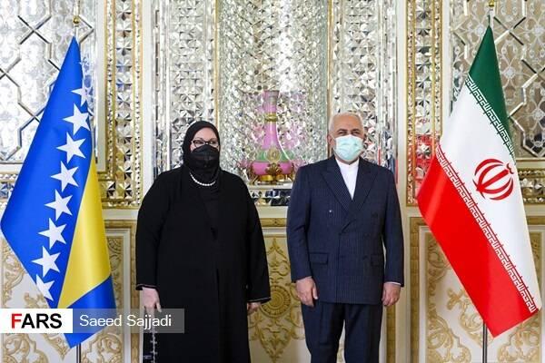 دیدار وزیر خارجه بوسنی و «انریکه مورا» با ظریف +عکس