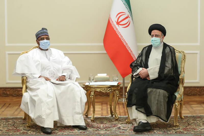 عکس/ دیدار رئیس مجلس نیجر با رئیسی