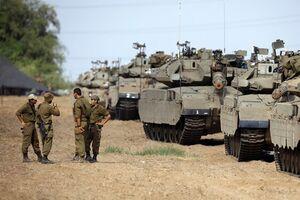 آمادهباش تانکهای ارتش رژیم صهیونیستی در مرز با لبنان + فیلم - کراپشده