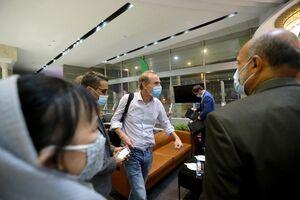عکس/ سفر نمایندگان ارشد اتحادیه اروپا به تهران