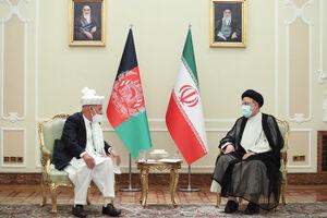 عکس/ دیدار رئیس جمهور افغانستان با رئیسی