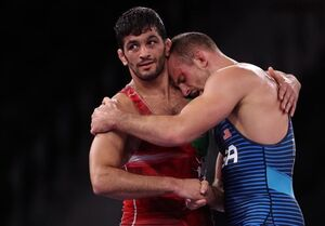 المپیک ۲۰۲۰ توکیو| تیلور: یزدانی قویترین مردی است که تا به حال دیدهام/ ثانیههای آخر شانسم را امتحان کردم
