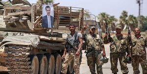 حمله تروریستها به خودروی ارتش سوریه