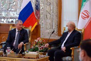 تاکید قالیباف و والودین بر ارتقای روابط اقتصادی ایران و روسیه