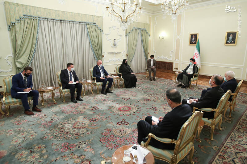 دیدار وزیر خارجه بوسنی و هرزگوین با رئیسی