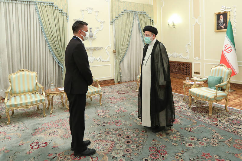دیدار دبیرکل اتحادیه آلبا با رئیسی