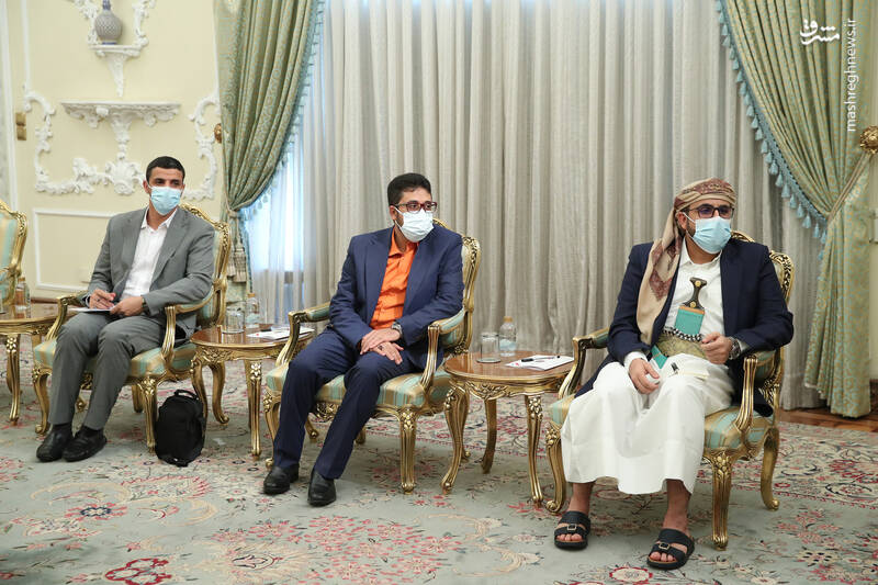 دیدار فرستاده ویژه یمن با رئیسی