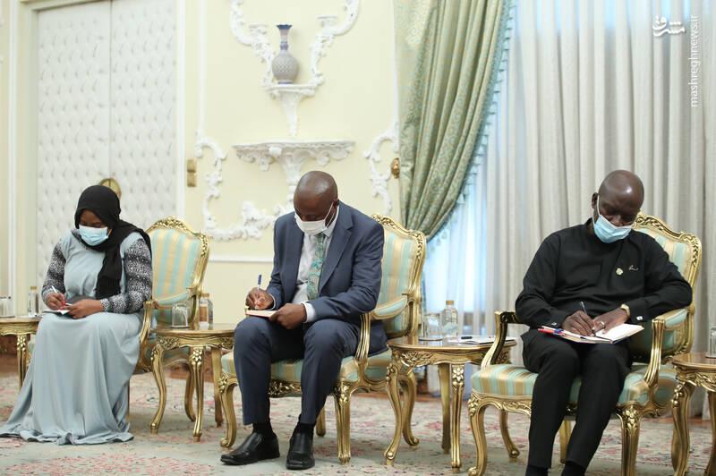 دیدار وزیر گردشگری غنا با رئیسی