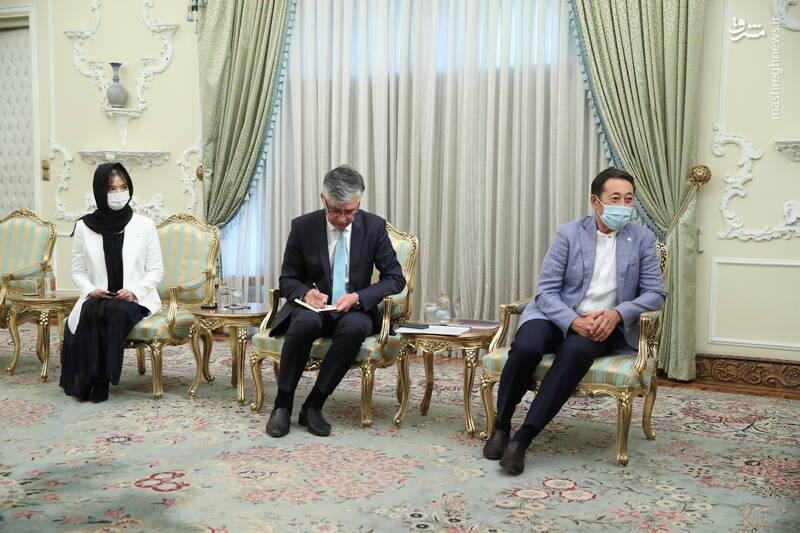 دیدار مدیر اجرایی دبیرخانه سیکا با رئیسی