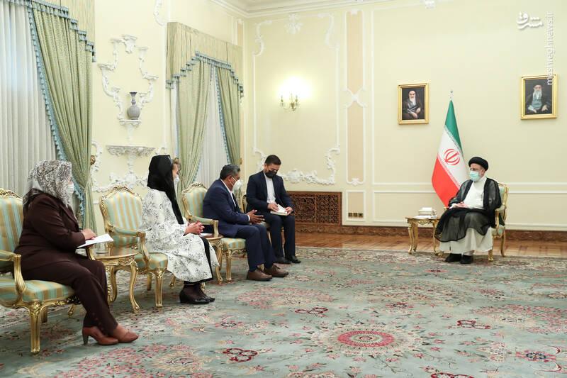 دیدار وزیر امور خارجه بولیوی با رئیسی